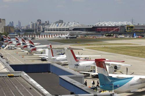 London City Airport (PRNewsFoto/Q8Aviation)