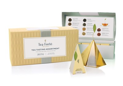 Tea Forte launches new look for a taste of luxury