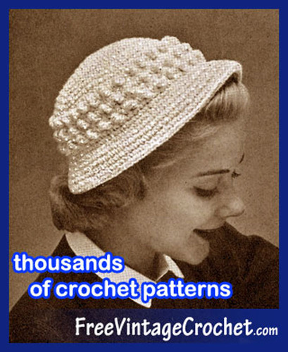 Crochet Patterns Website Free Vintage Crochet is Celebrating its 8th Anniversary