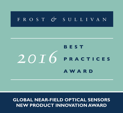 Heptagon is recognized with Frost & Sullivan's 2016 Global New Product Innovation Award.