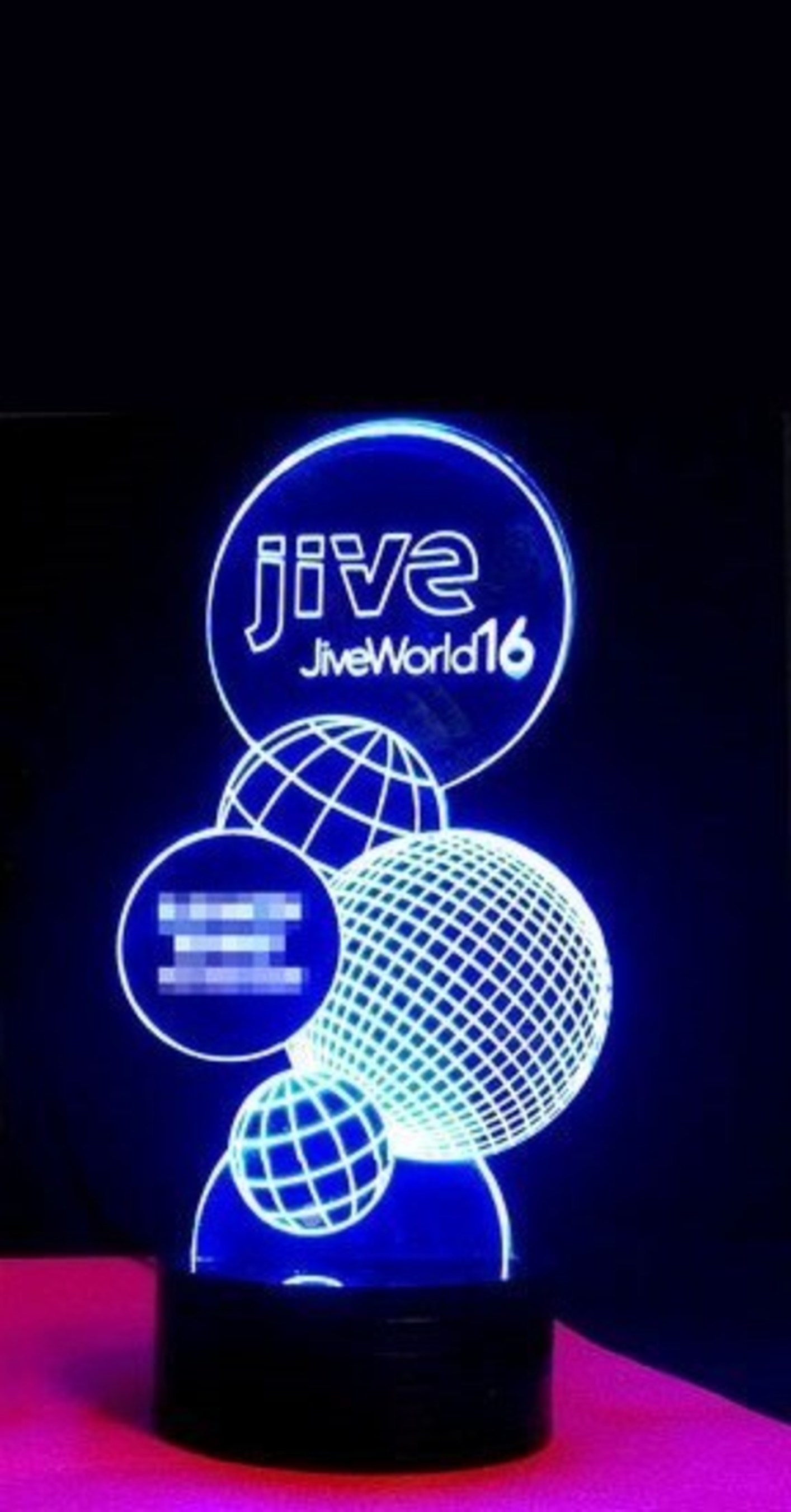 2016 Jive Award Trophy