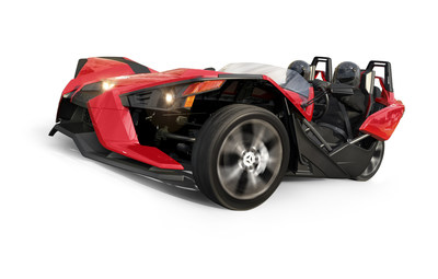THE HEAD-TURNING POLARIS(R) SLINGSHOT(R) ROARS INTO INDIANA DEALERSHIPS