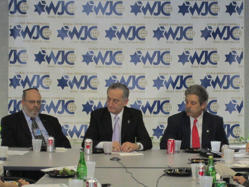 World Jewish Congress Meets with Argentinian Jewish Leaders