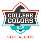 Unite with Fellow College Football Fans Across the Country on College Colors Day, Friday, Sept. 4