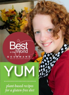 YUM recipes are easy enough for a 12-year-old to make and are free of cane sugar, gluten, dairy, eggs & other animal products.
