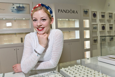 PANDORA Jewelry Welcomes U.S. Figure Skater, Silver Medalist, Gracie Gold, to the PANDORA family.  (PRNewsFoto/PANDORA Jewelry)