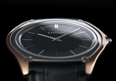 Citizen Eco-Drive One, released at Baselworld 2016, the worlds thinnest light powered watch.