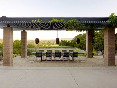 Landscaped gardens and outdoor lighting among the hot trends for 2014, according to the American Society of Landscape Architects.  (PRNewsFoto/American Society of Landscape Architects)