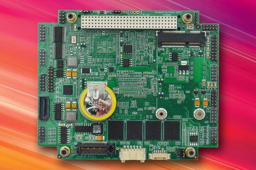 Rugged PCI/104-Express SBC with Intel N2800 CPU Offers Exceptional I/O Capabilities; Advanced Processing. (PRNewsFoto/Diamond Systems) (PRNewsFoto/DIAMOND SYSTEMS)