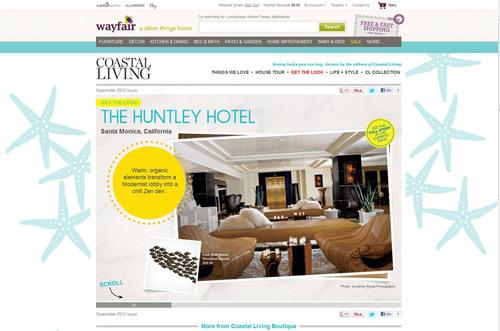 Coastal Living at Wayfair.com.  (PRNewsFoto/Wayfair.com)