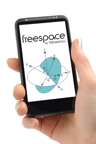 Hillcrest Labs Introduces Embedded Software Solution for Smartphones and Tablets: Freespace(R) MotionEngine(TM) for Mobile.  (PRNewsFoto/Hillcrest Labs)