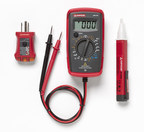 The AM-420 Digital Multimeter accurately measures voltage up to 250 V in receptacles, switches, extension cords, and light fixtures, and troubleshoots light bulbs and fuses with its continuity function. The CAT II 250V safety rated meter can check 1.5 and 9 V batteries, test extension cords, and verify the proper wiring of an outlet with its voltage function.