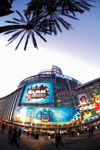 Retro Look and Sound Meet New Technology at NAMM Show.  (PRNewsFoto/The National Association of Music Merchants  ...