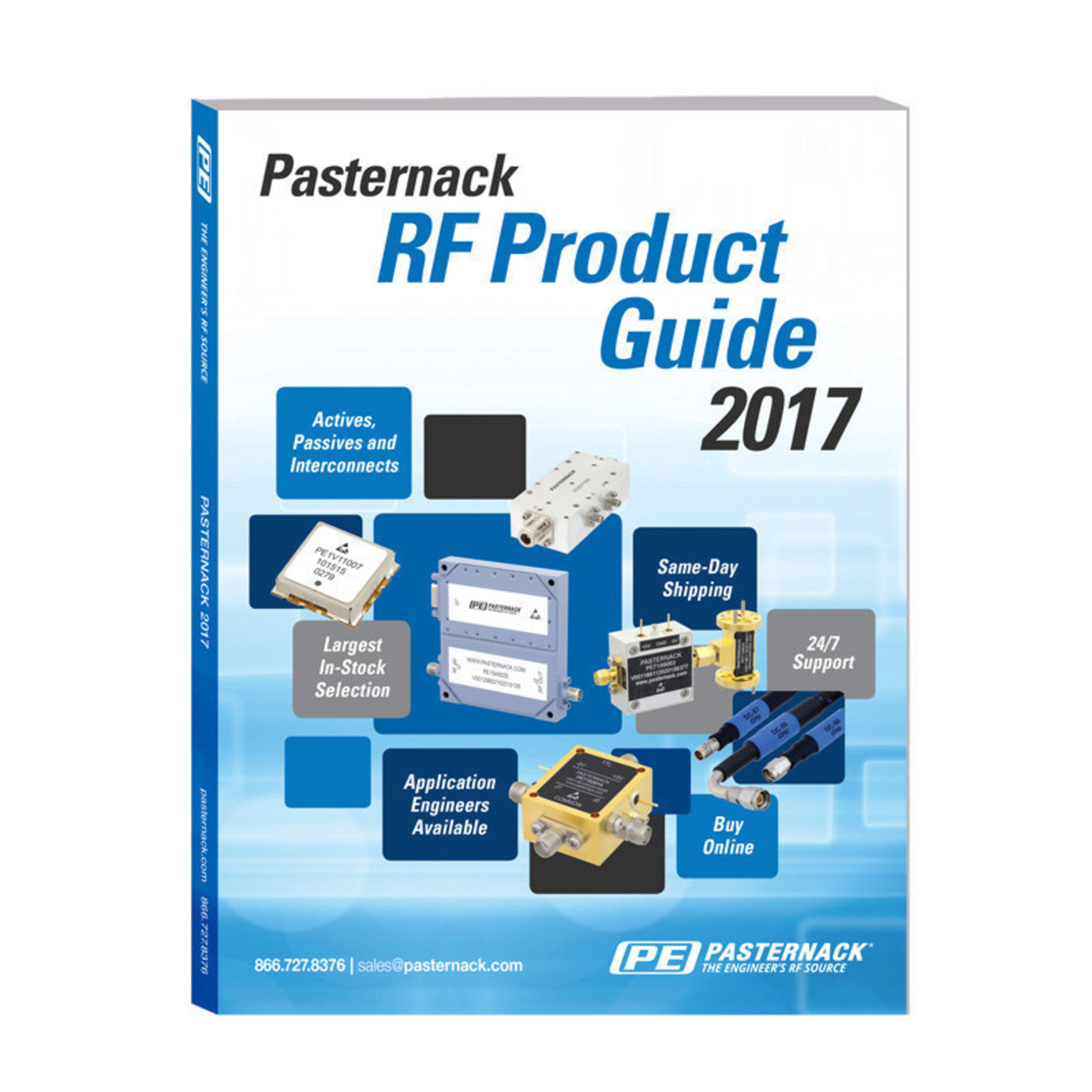 Pasternack Publishes New 2017 RF Product Guide Which is Available Now