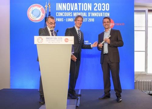 Gregory Lambert, CEO de TargEDys Laureat du Concour Mondial d'Innovation 2016. (PRNewsFoto/TargEDys)
