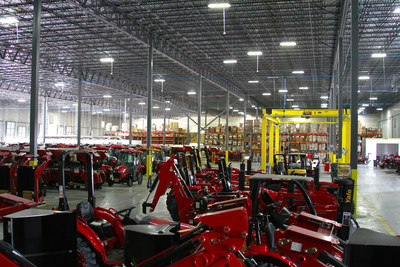 Mahindra USA, based in Houston, Texas, has expanded its U.S. presence to include five distribution points in North America, including this facility at its Houston headquarters, to help meet the needs of its customers and the growing demand for its products.