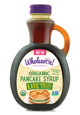 Building off the popularity of Wholesome! Organic Pancake Syrup, the company has made a lighter version with only half the calories per serving of the original. Wholesome! Organic Lite Pancake Syrup maintains that sweet flavor, but avoids using high fructose corn syrup, artificial preservatives, colors and flavors. Sold in a 20 fluid ounce bottle, the syrup is a great accompaniment to pancakes, waffles, French toast and oatmeal. Appearing on shelves in Summer 2016, it is USDA Organic Certified, Non-GMO Project Verified, Gluten Free, Vegan and Kosher.