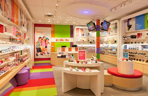 Stride Rite(R) Unveils New Store in Columbus, OH with Milestone.  (PRNewsFoto/Stride Rite Children's Group)