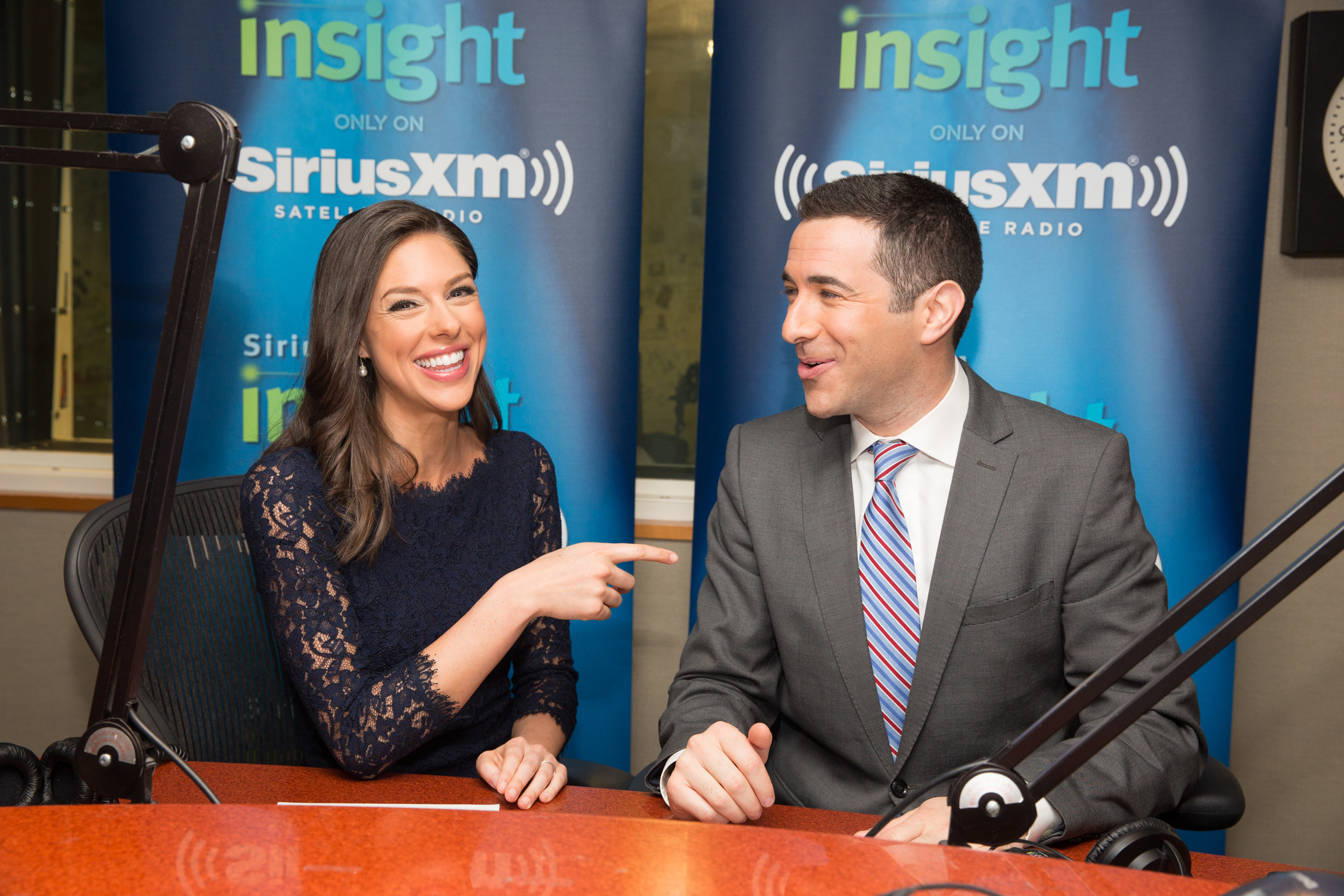 SiriusXM to Launch 'Let's Talk with Abby and Ari,' a New, Weekly Show Airing on SiriusXM Insight