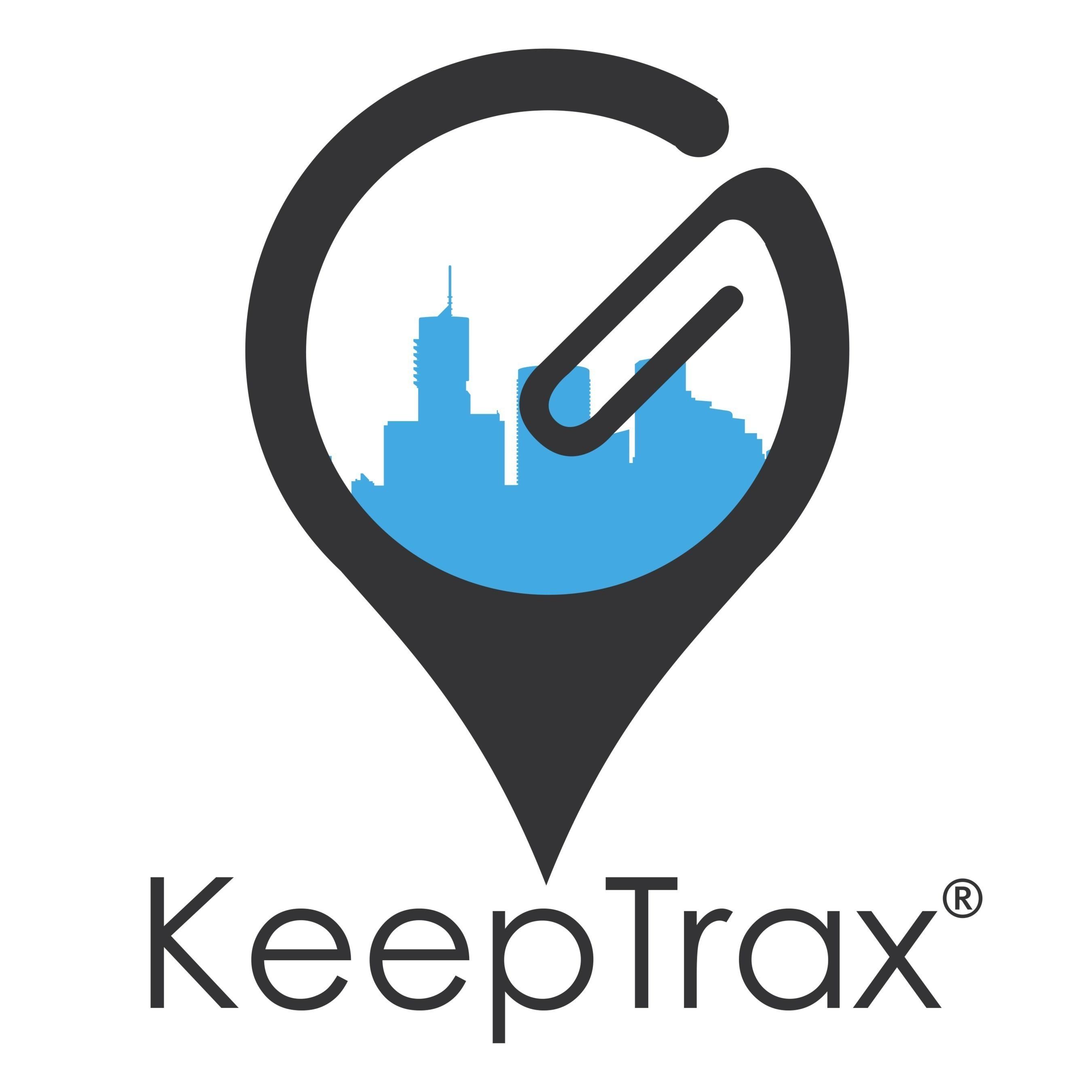 Vertical logo of KeepTrax