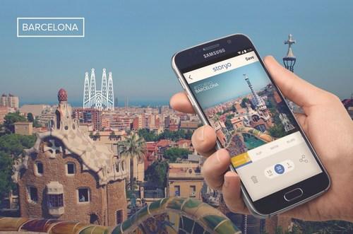 La aplicacion Storyo lanza nuevos temas de ciudad para Madrid y Barcelona (PRNewsFoto/Storymatik Software, Sa)