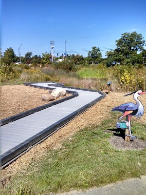 STRUXURE(R) Wetlands Walkway in Centerville-Washington, Ohio Park District (PRNewsFoto/AXION International Holdings)