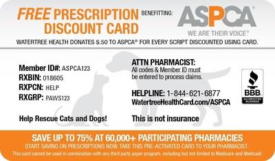 ASPCA Card