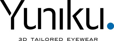 Logo Yuniku. HOYA launches Yuniku, a global first in vision-centric, 3D tailored eyewear (PRNewsFoto/HOYA Vision Care Europe)