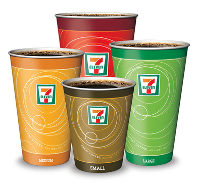 Participating 7-Eleven stores offer a free cup of coffee of any size with the purchase of any size or Editions flavor of Red Bull Energy Drink this Black Friday.  (PRNewsFoto/7-Eleven, Inc.)