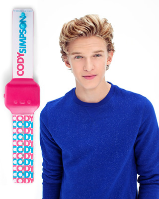 Hallmark and Cody Simpson teamed up to create a Hallmark Cody Simpson style band - now available in participating Hallmark Gold Crown stores.