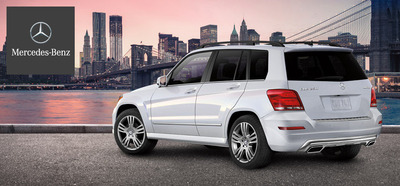 The 2014 Mercedes-Benz GLK250 utilizes a new BlueTEC diesel powered engine. (PRNewsFoto/Loeber Motors) (PRNewsFoto/LOEBER MOTORS)