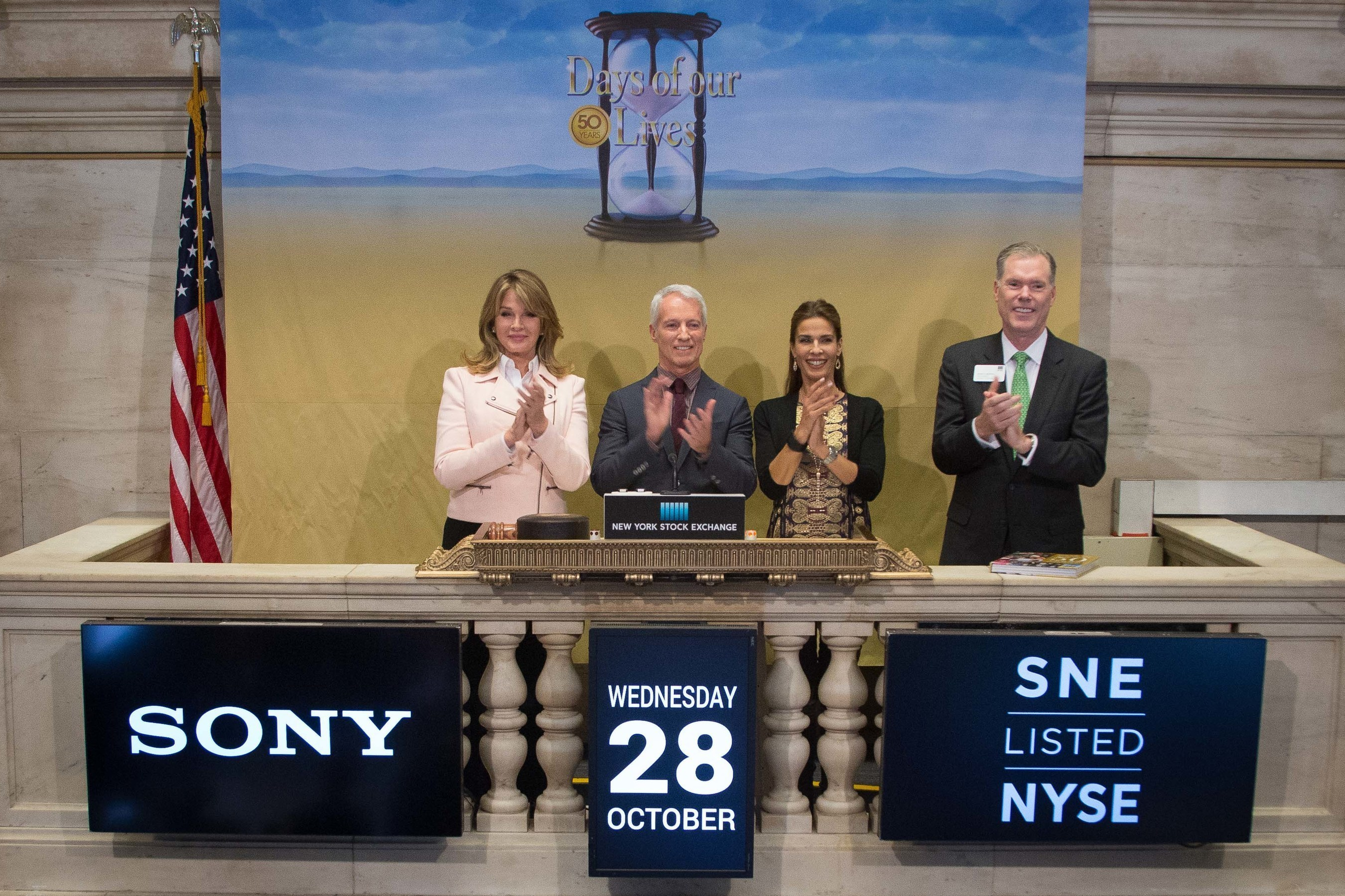 Days of our Lives Commemorates 50 Years at the NYSE