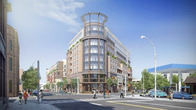 The mc luxury boutique hotel breaks ground in montclair nj for Luxury independent hotels