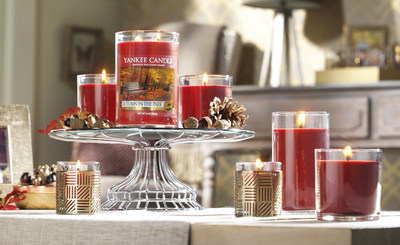 Fresh and crisp Autumn in the Park is one of the five new fragrances from Yankee Candle this fall.