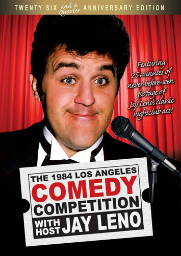 Jay Leno's 1984 Stand Up Comedy Act He Didn't Want you to See Hits Stores July 13th 2010