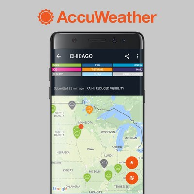 AccuWeather AccUcast in Android App