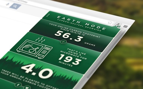 EARTH MODE is a new plug-in from Johnnie Walker for Earth Day (PRNewsFoto/Johnnie Walker)
