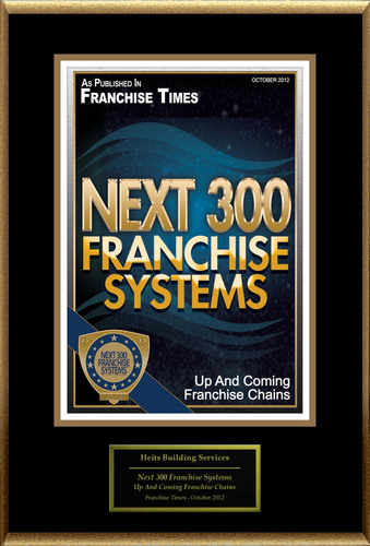 Heits Building Services Selected For 'Next 300 Franchise Systems'