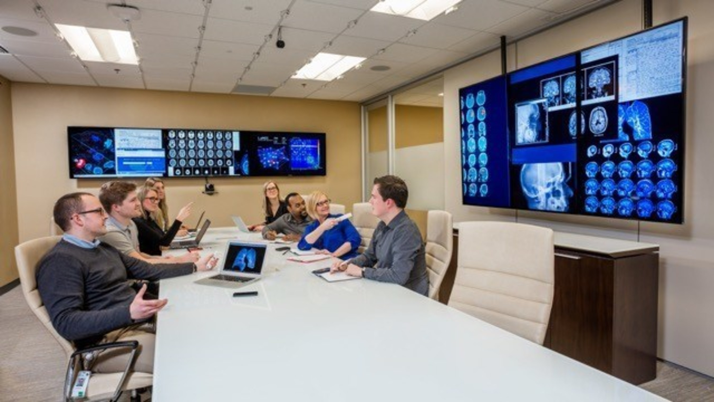 Sarah Cannon invests in innovative technology from Oblong Industries to promote collaboration between colleagues and partners across U.S. and UK