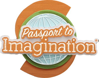 Michaels Passport to Imagination Logo.