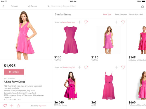 Shop clothes across hundreds of top fashion stores, all in one app with StyleSpotter. (PRNewsFoto/ZIpfWorks) (PRNewsFoto/ZIPFWORKS)