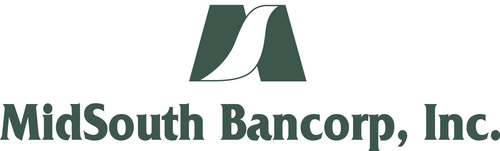 MidSouth Bancorp, Inc. Reports Second Quarter 2013 Results