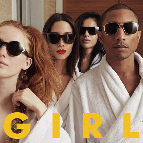 "Pharrell Williams To Release New Album ""G  I  R  L"" Monday, March 3.  (PRNewsFoto/Columbia Records)"