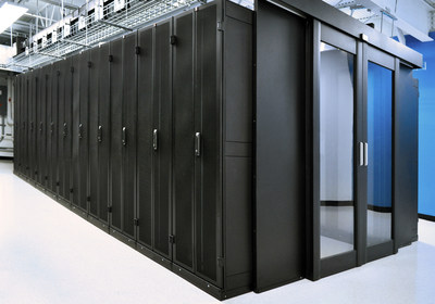 CPI Aisle Containment Solution in Hostirian Colocation Data Center