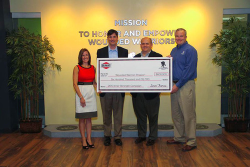Brawny® Brand Surpasses $1.4 Million in Donations  to Wounded Warrior Project® Through 'Inner