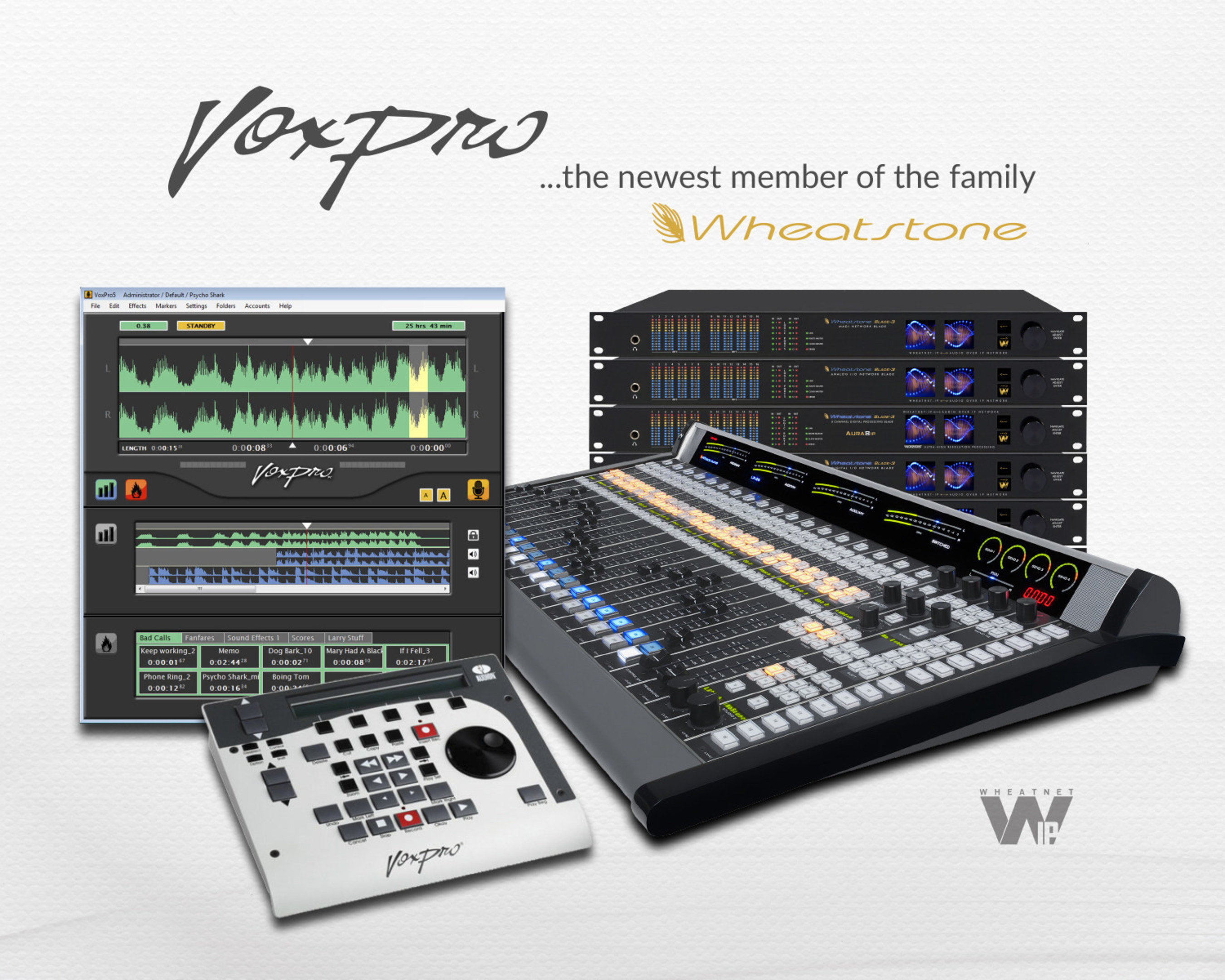 Wheatstone Acquires Audion Labs, VoxPro