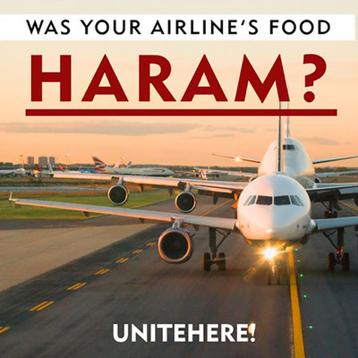 Was Your Airline's Food Haram?
