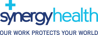 Synergy Health, our work protects your world.  (PRNewsFoto/Synergy Health)