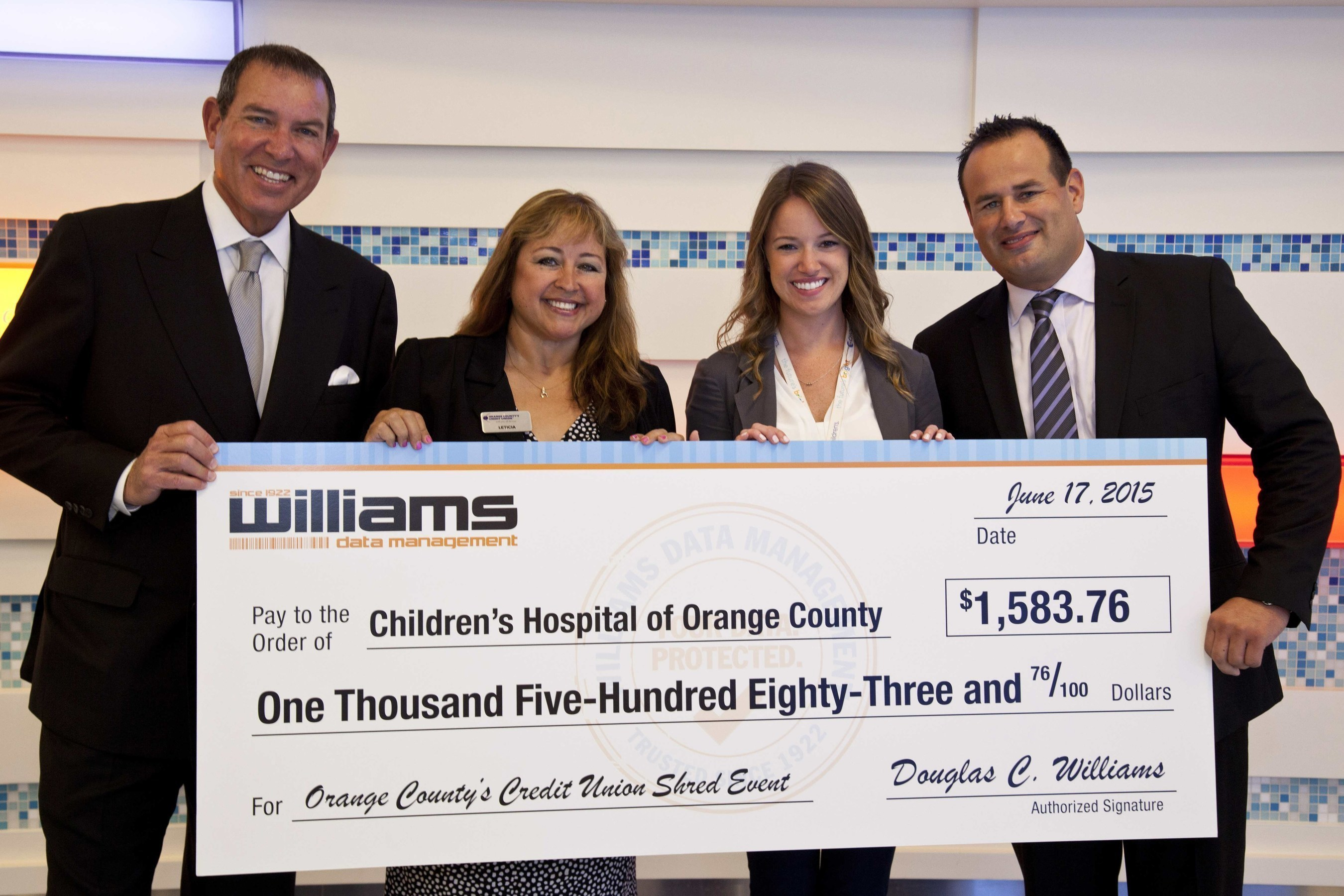 Williams Data Management Supports The Expansion Of CHOC's Neonatal Intensive Care Unit