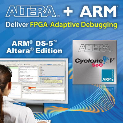 ARM DS-5 Altera Edition.  (PRNewsFoto/Altera Corporation)